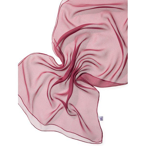 Echarpe Chiffon Colorida 180x55cm - Bordeaux