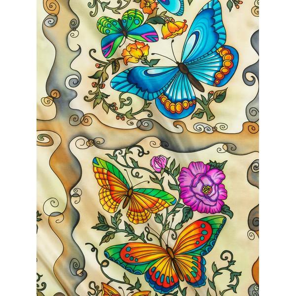 Lenço Guttado 90x90cm - Flutter