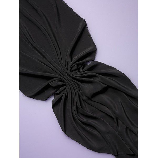 Double Georgette 16 140cm cor ´Black´
