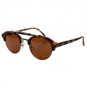 Óculos de Sol Khatto Caçador Round Italiano II - PU