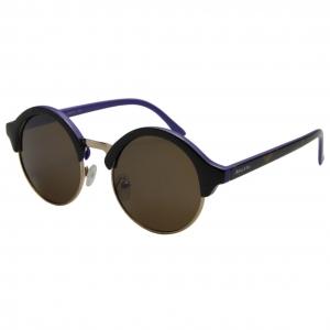 Óculos de Sol Khatto Retrô Round Style Italiano - C110
