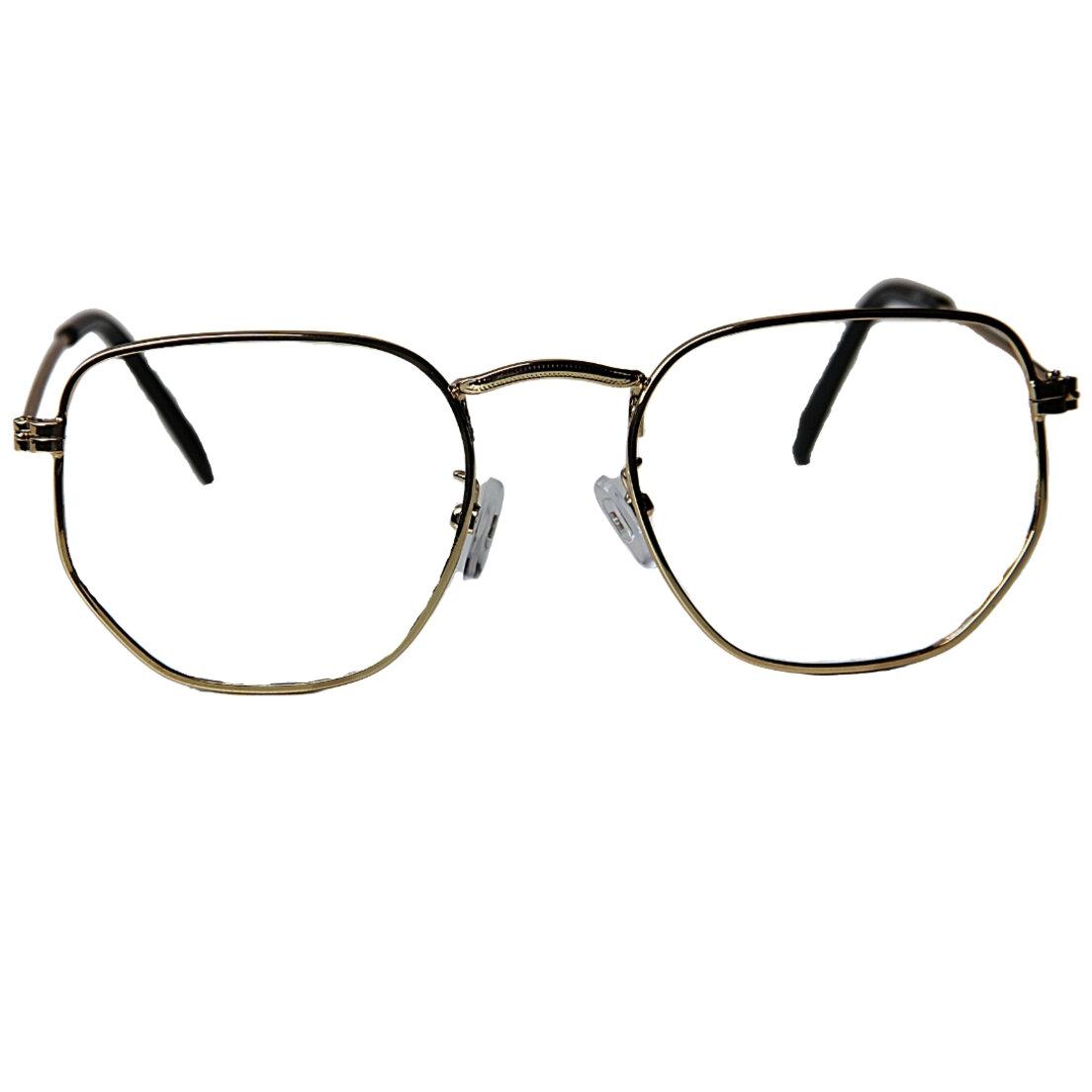 Armação de Óculos Khatto Hexagonal Tery - C132