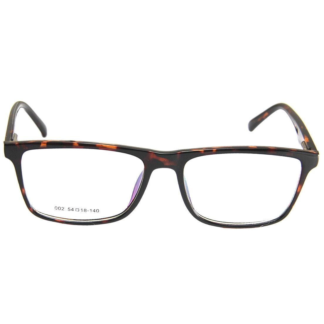 Armação de Óculos Khatto Square Animal Print - PU