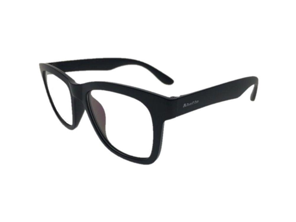 Armação de Óculos Khatto Square Black - C103