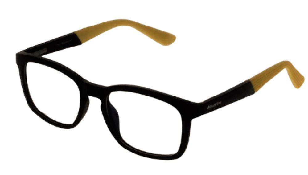 Armação de Óculos Khatto Square Yellow - C022
