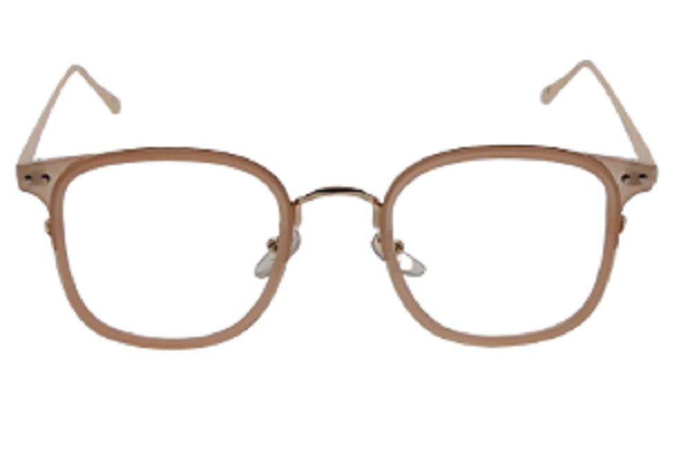 Armação para Óculos de Grau Khatto Shape Nude - PU