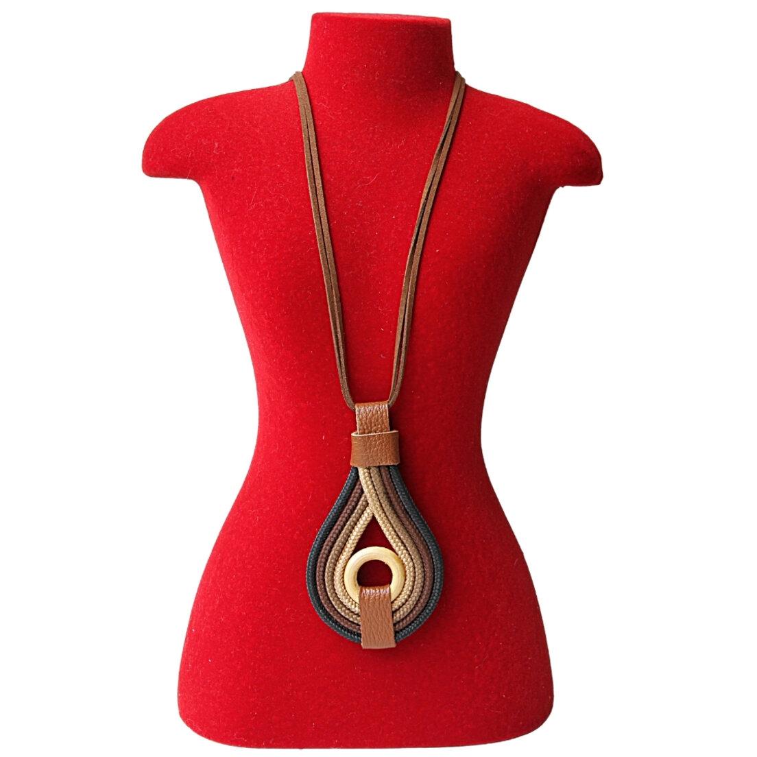 Colar Khatto Bicolor Fashion