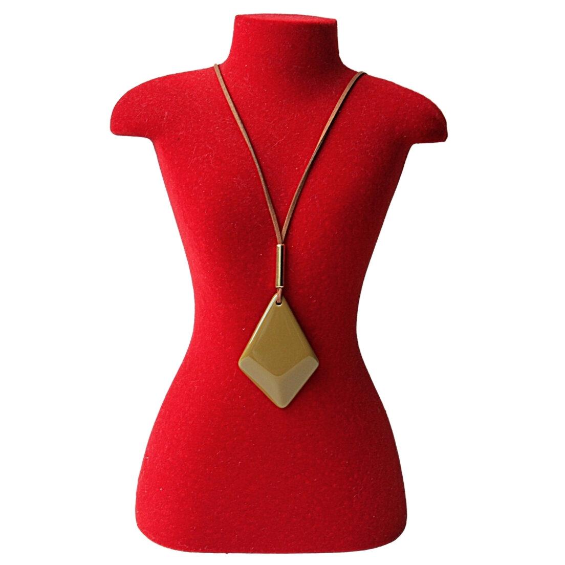 Colar Khatto Hexagonal Fashion