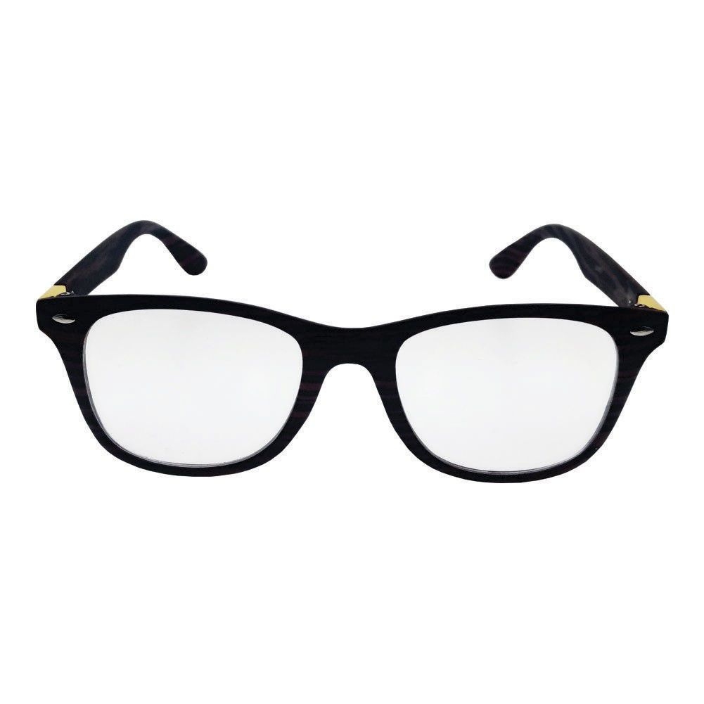 Óculos de Grau Khatto Wayfarer Cracked