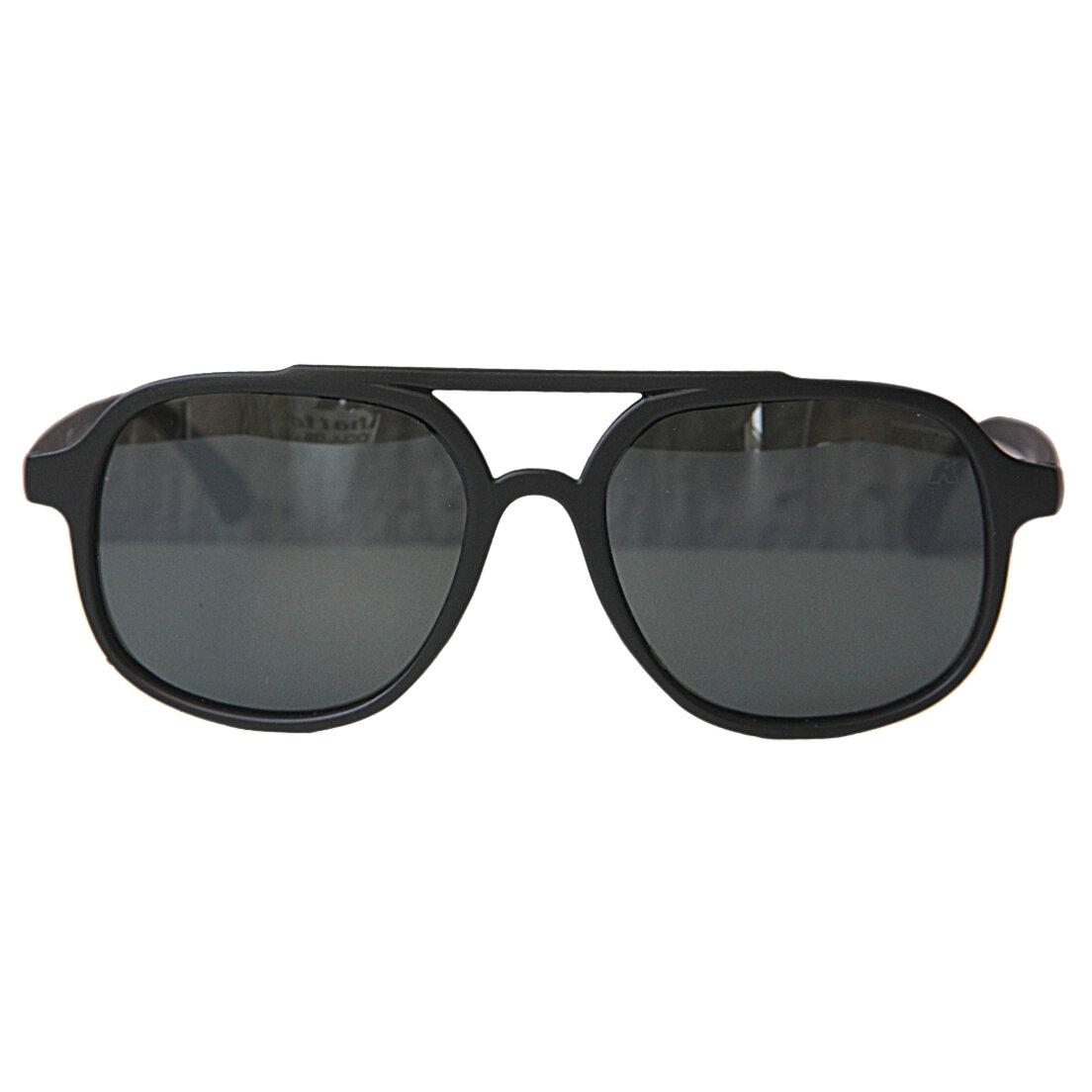 Óculos de Sol Khatto Aviador Black Italiano - PU