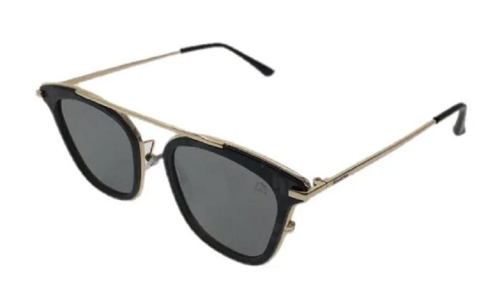 Óculos de Sol Khatto Caçador Less Distinto - PU - Preto - Preto