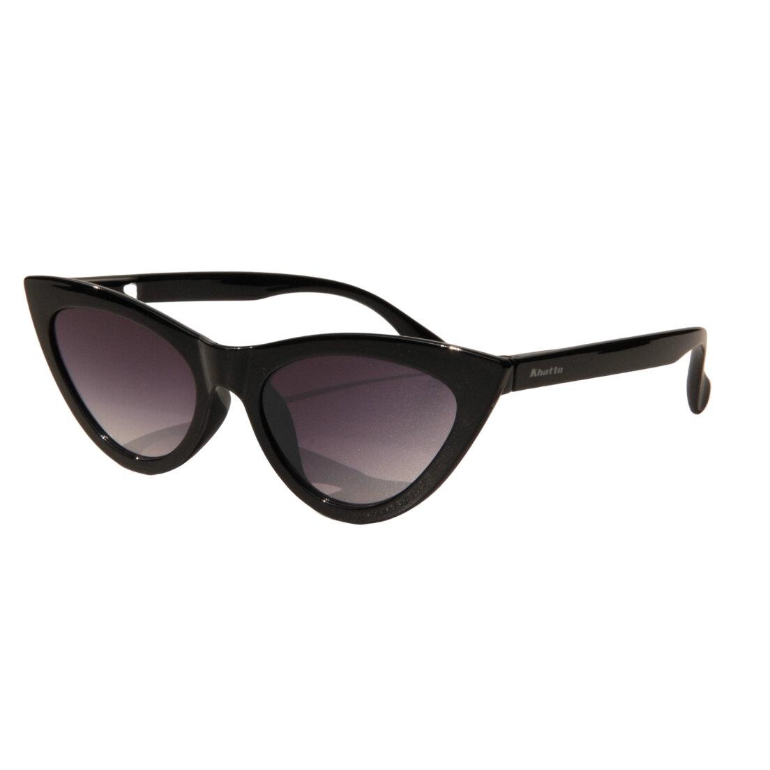 Óculos de Sol Khatto Cat Bruninha Black Duo - C003