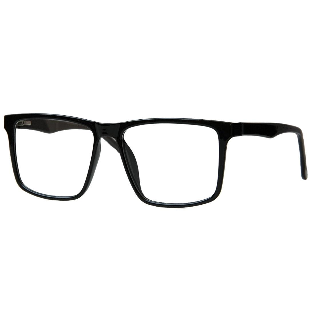 Óculos de Sol Khatto Clip On Square Black  Polarizado - C106