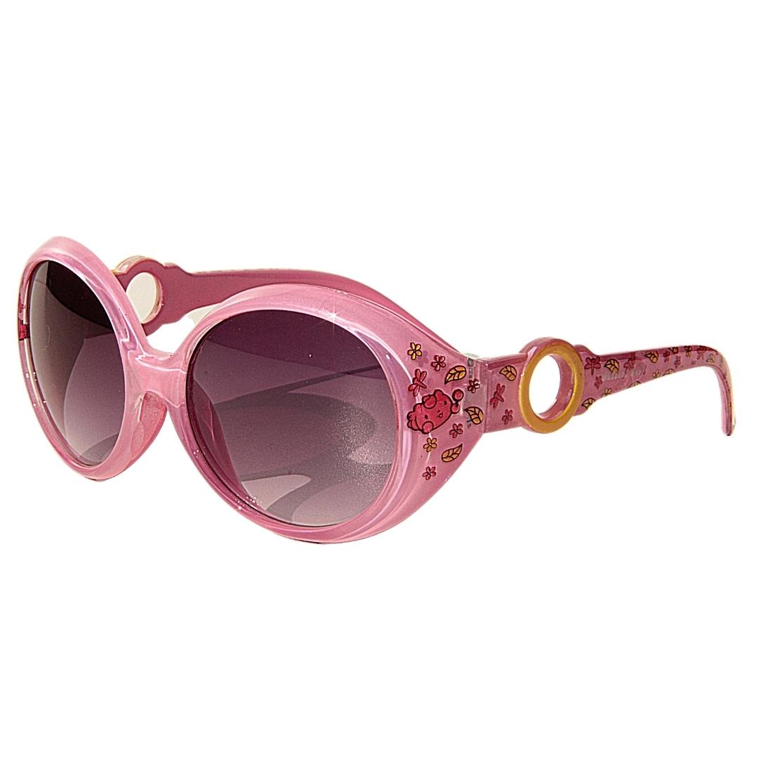 Óculos de Sol Khatto Kids Retrô Flowers - PU