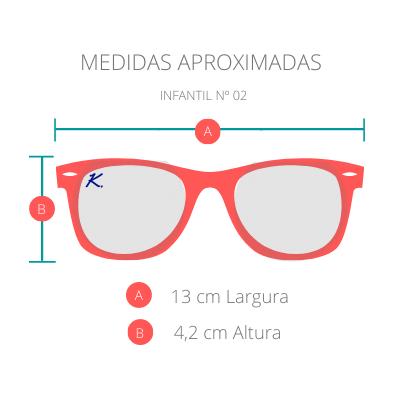 Óculos de Sol Khatto Kids Way Phillip - C032