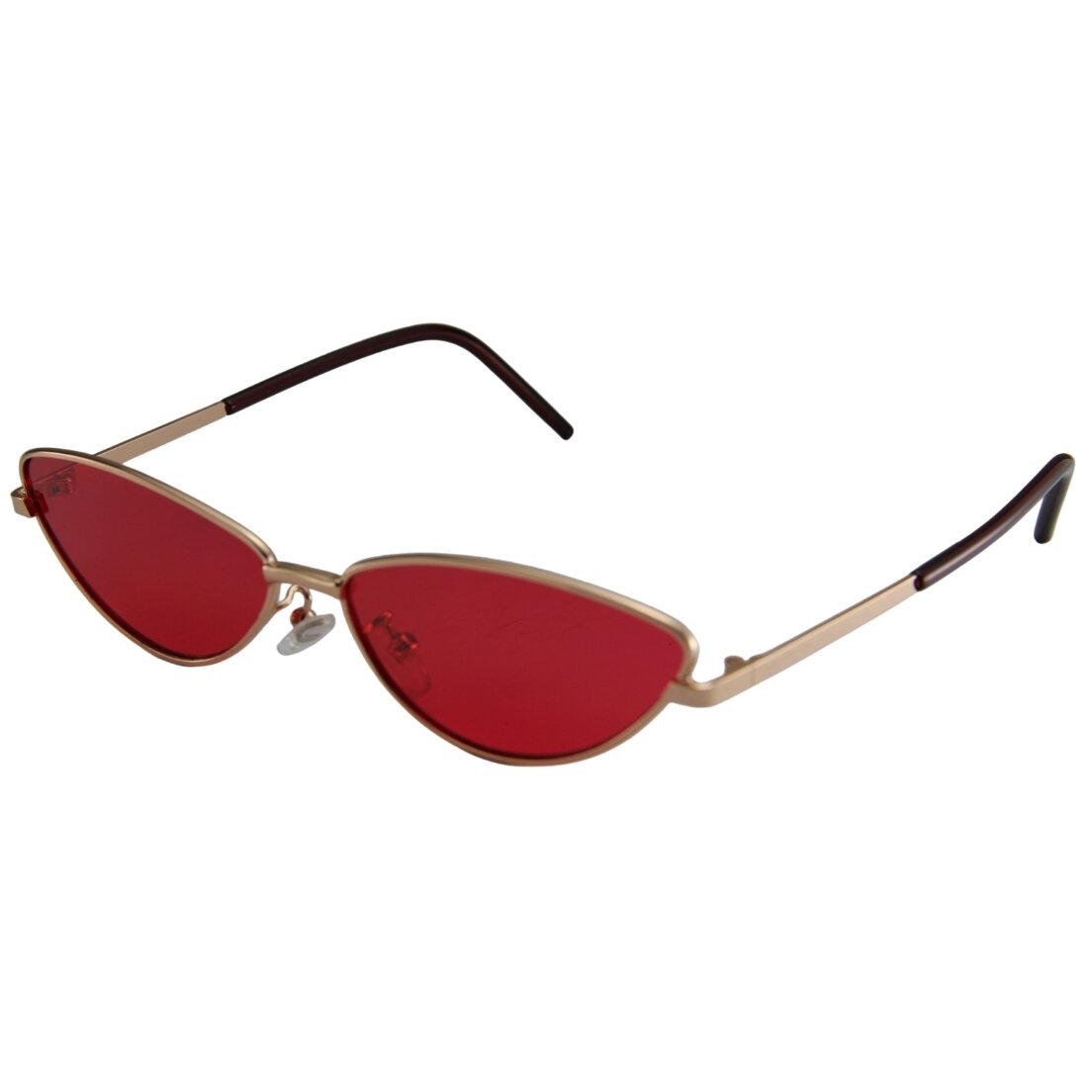 Óculos de Sol Khatto Retrô Bruninha Metal - C003