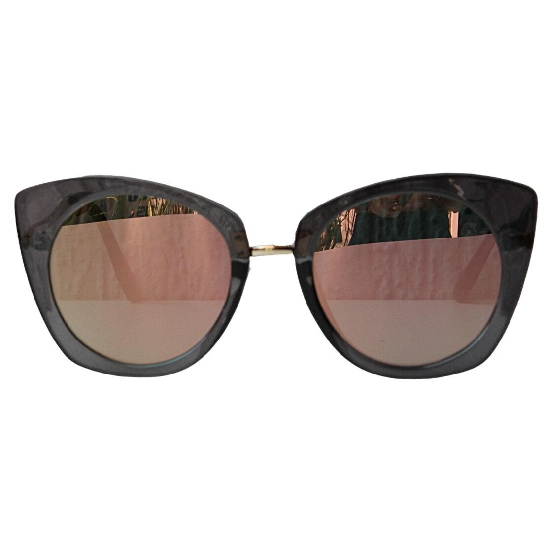 Óculos de Sol Khatto Retrô Cat Peace - PU