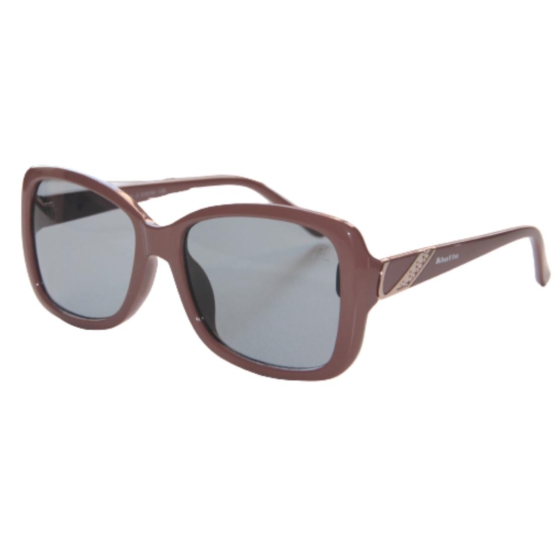 Óculos de Sol Khatto Retrô Chocolate Italiano - PU