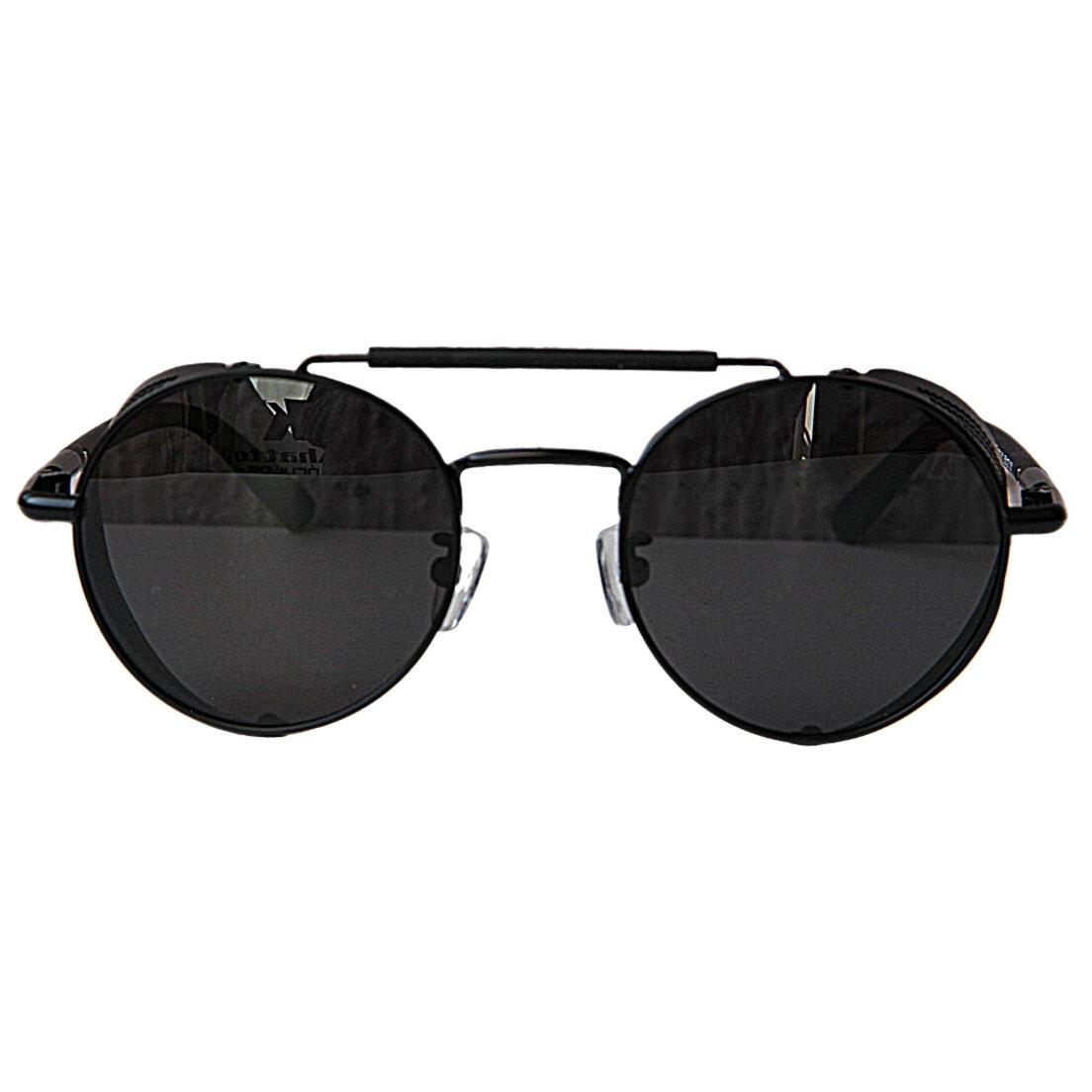 Óculos de Sol Khatto Round Caçador Punk - C078