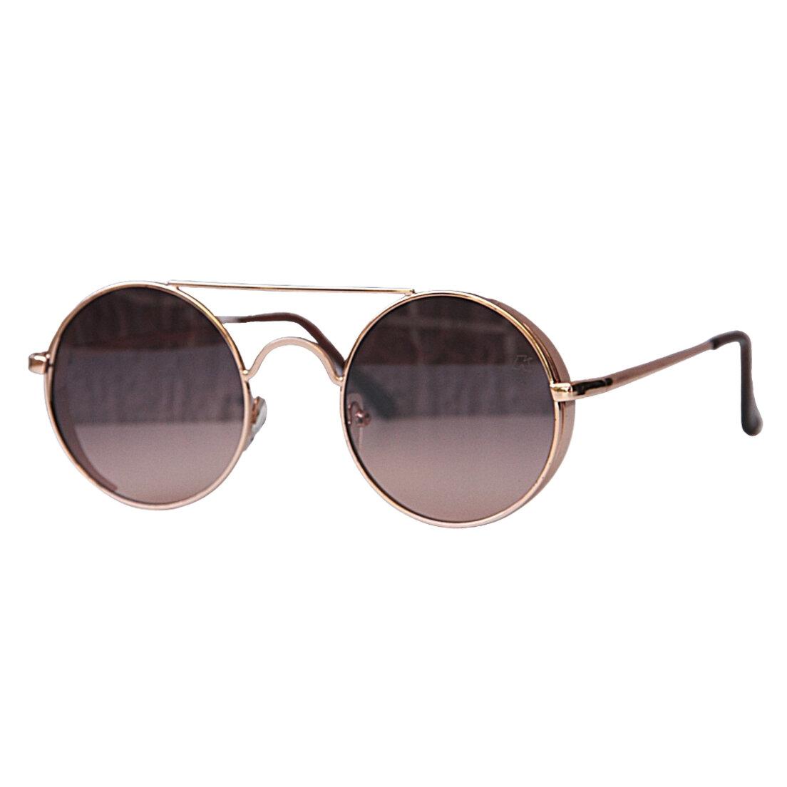 Óculos de Sol Khatto Round Loo Italiano- PU