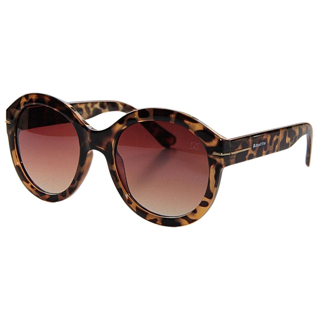 Óculos de Sol Khatto Round Megan Italiano - C059