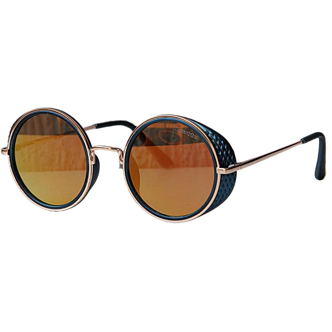 Óculos de Sol Khatto Round Punk Yellow- PU