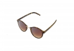 Óculos de Sol Khatto Round Simple Oncinha - C025