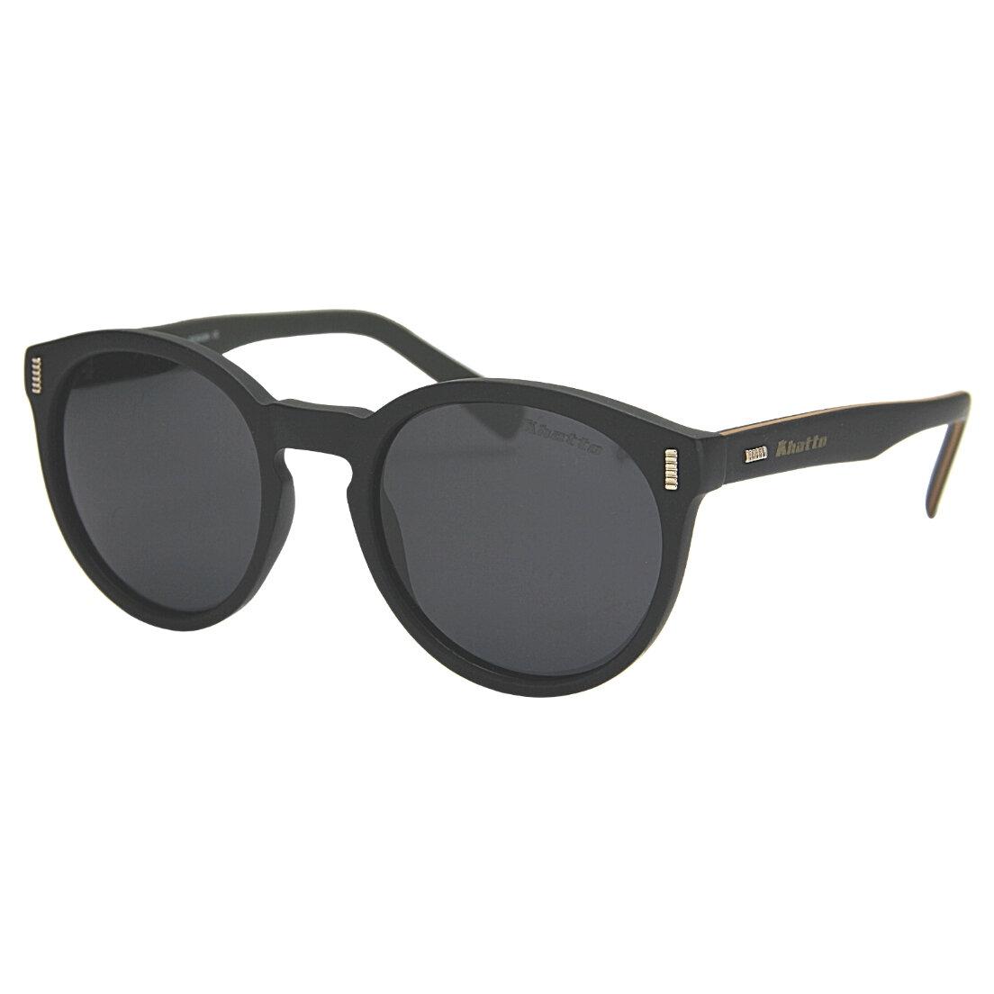 Óculos de Sol Khatto Round Young Stripe  Polarizado Italiano - C051