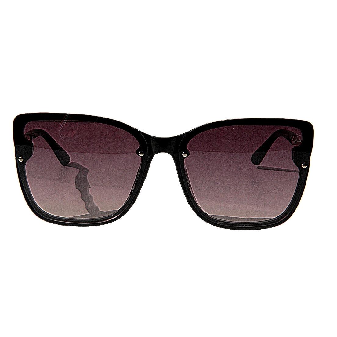 Óculos de Sol Khatto Square Fallon Black - C067