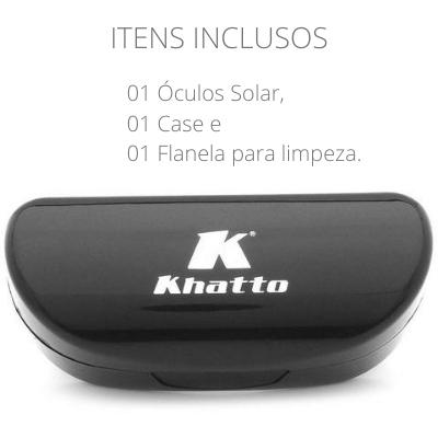 Óculos de Sol Khatto Square Veludo