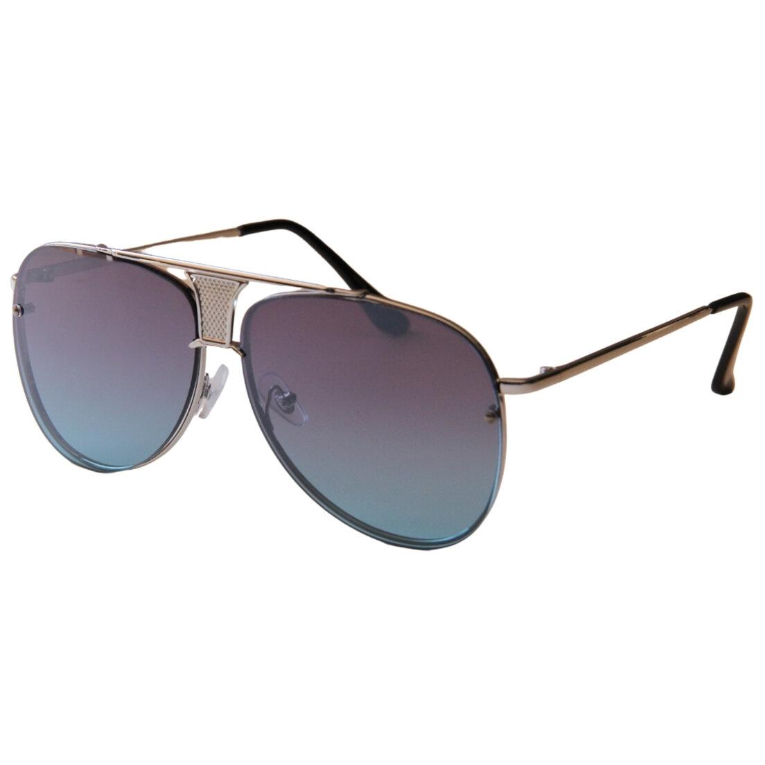OUTLET - Óculos de Sol Khatto Aviador Retrô - Azul