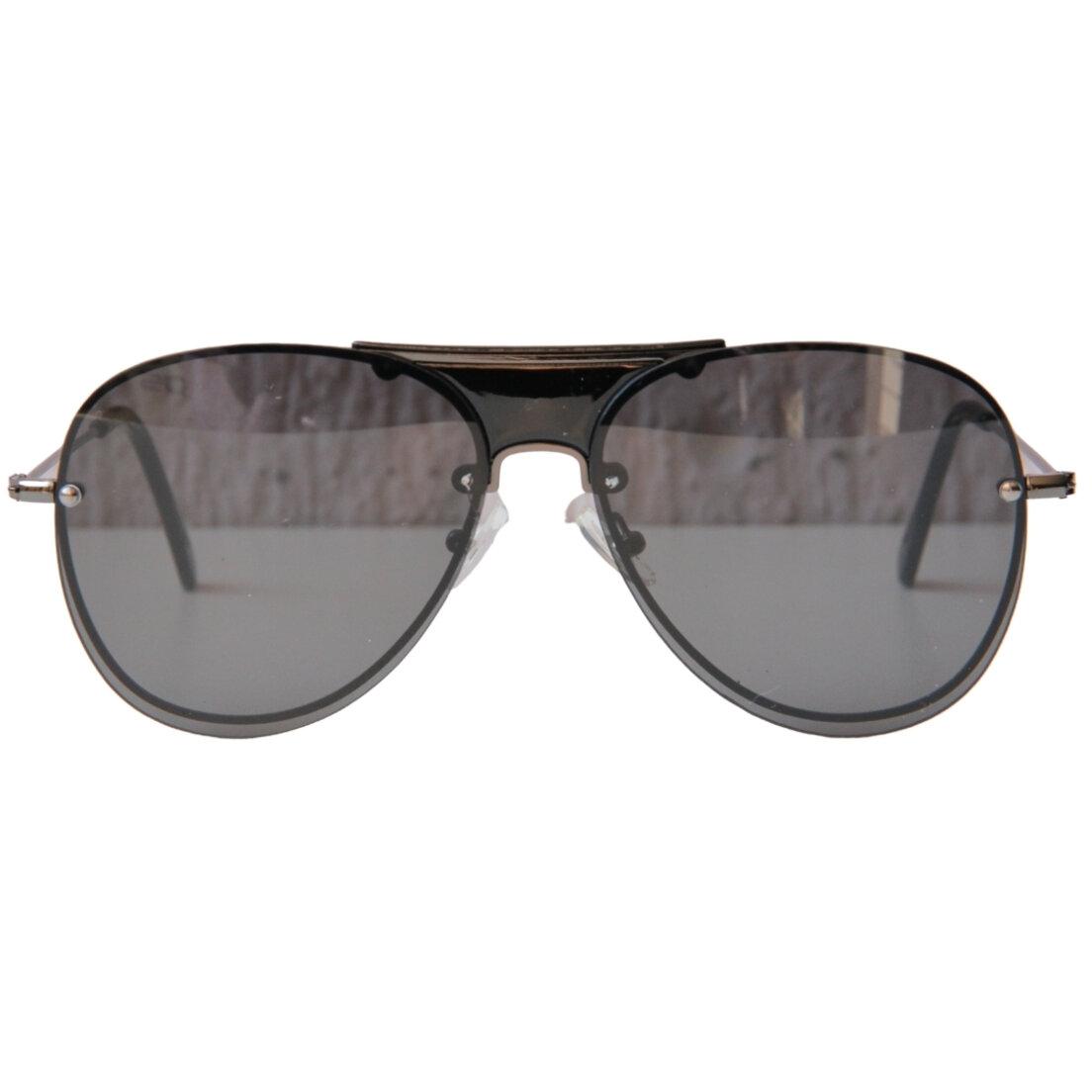 OUTLET - Óculos de Sol Khatto Aviador Retrô Black