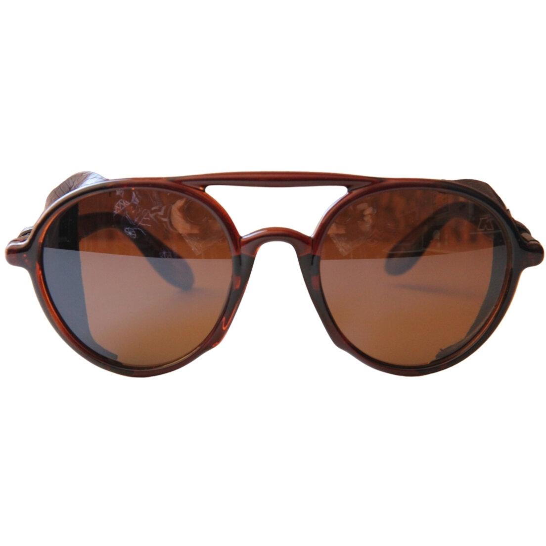 OUTLET - Óculos de Sol Khatto Caçador Rêtro - Marrom