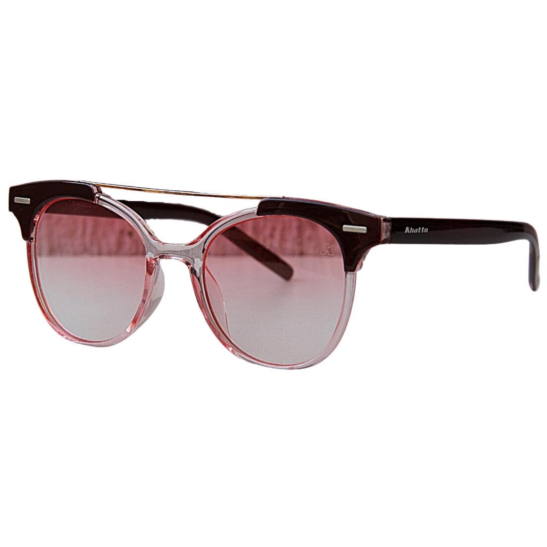 OUTLET - Óculos de Sol Khatto Caçador  Vermelho - Italiano