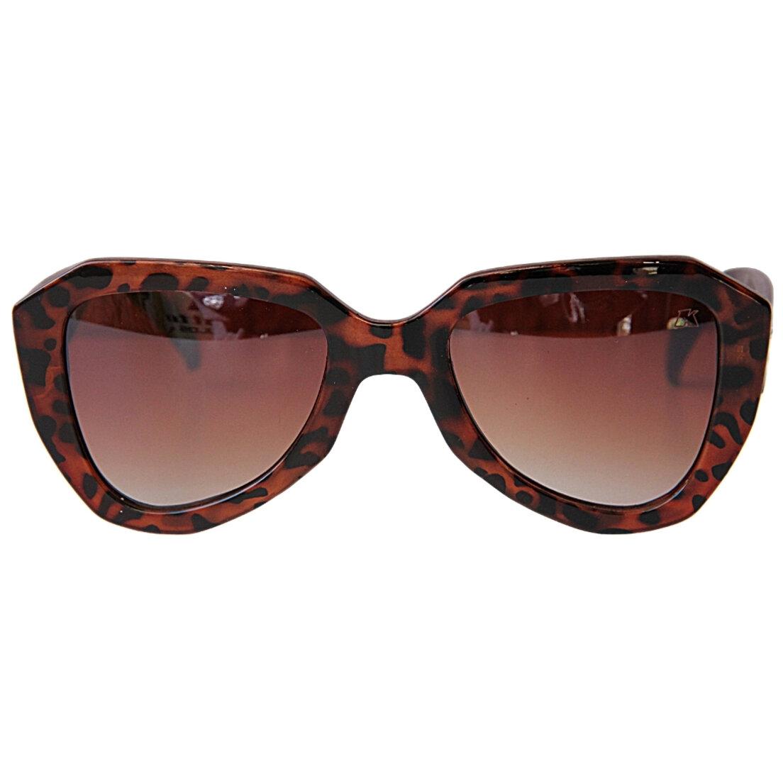 OUTLET - Óculos de Sol Khatto Retrô Poderosa - Onça