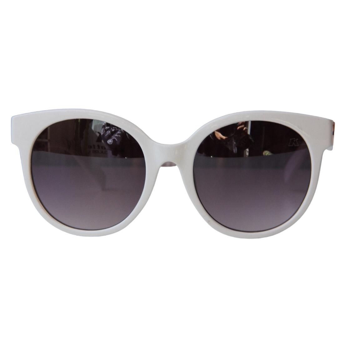 OUTLET - Óculos de Sol Khatto Round - Branco