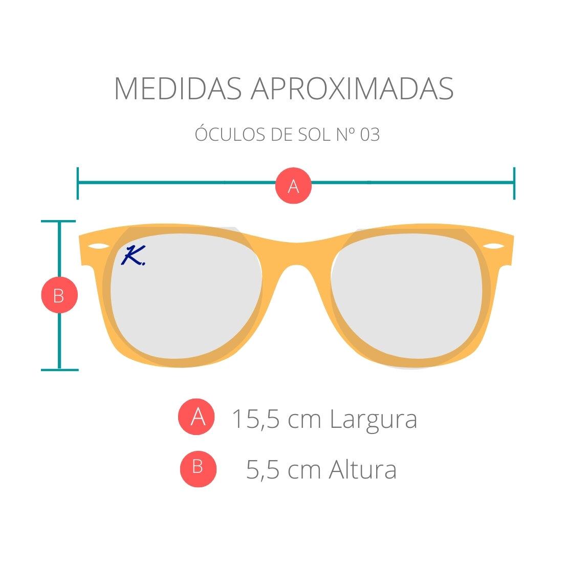 OUTLET - Óculos de Sol Khatto Round Retrô