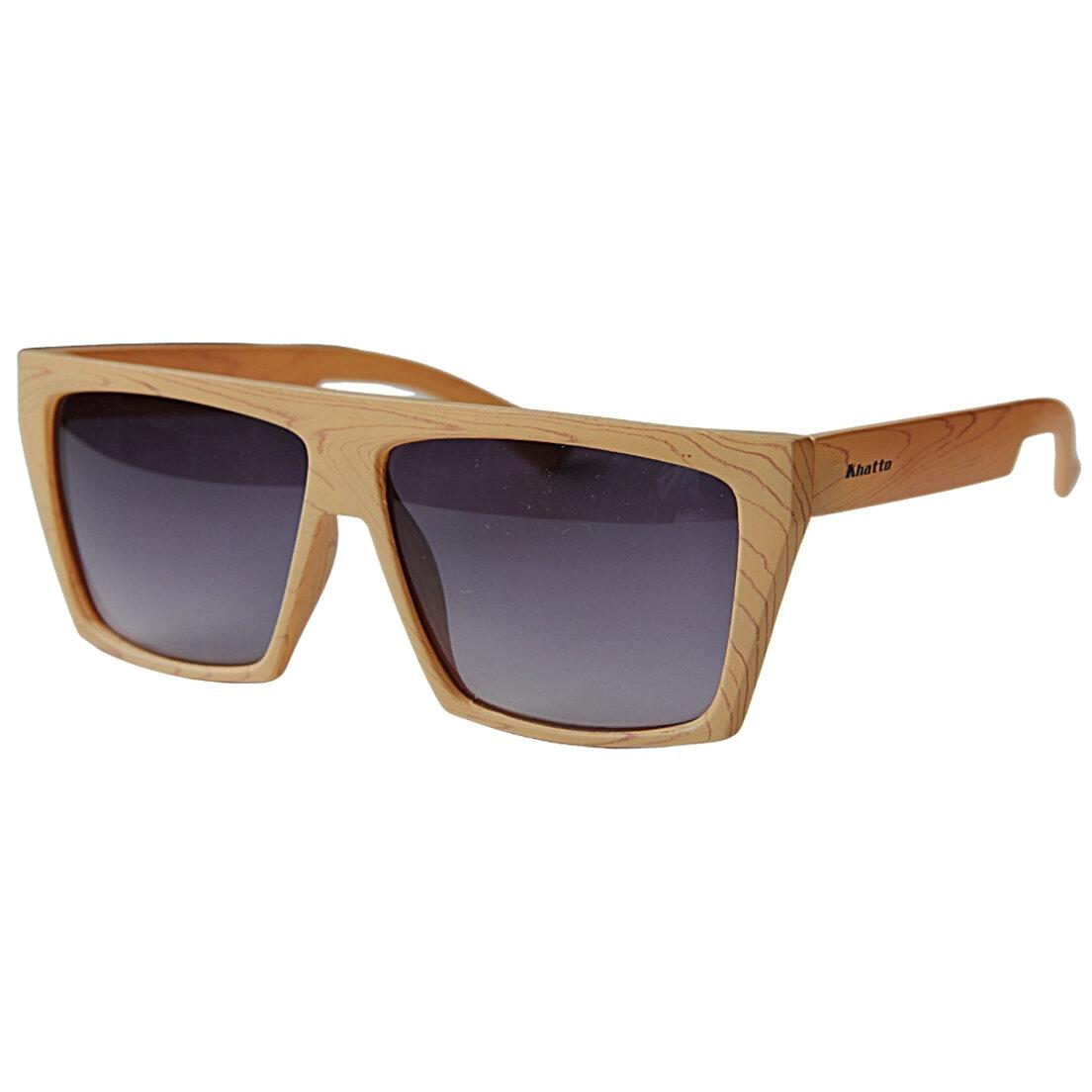 OUTLET - Óculos de Sol Khatto Square - Bege