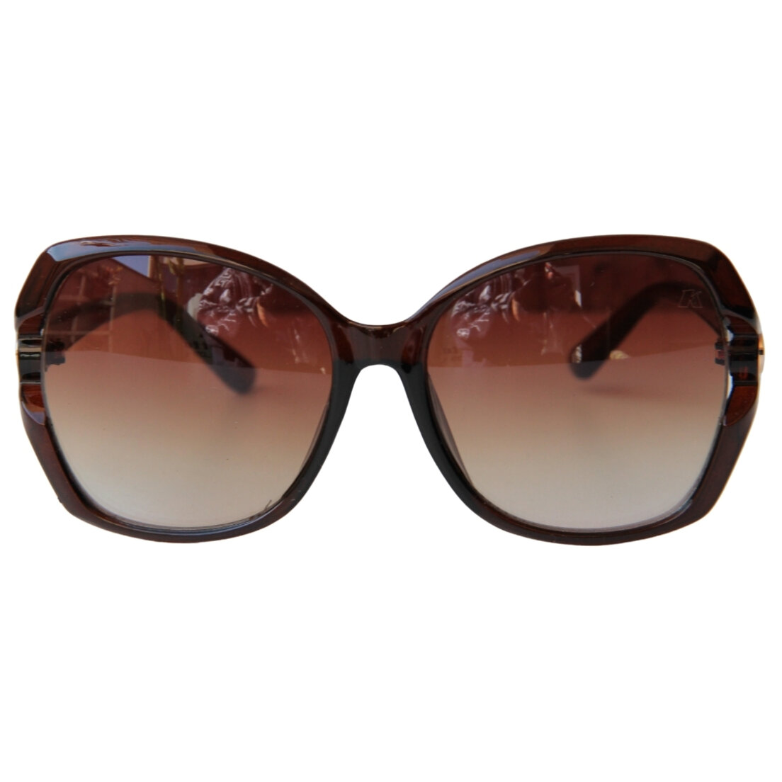 OUTLET - Óculos de Sol Khatto Square - Marrom