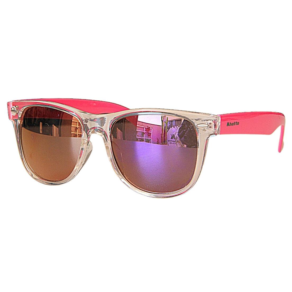 OUTLET - Óculos de Sol Khatto Square - Rosa
