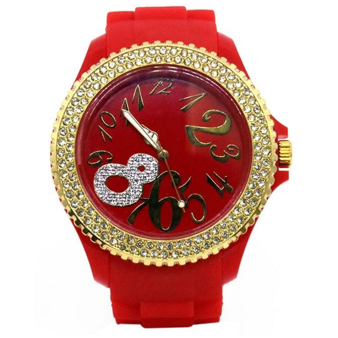 Relógio Khatto Red Fashion Feminino - Vermelho