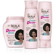 Kit Crespo Divino + Shampoo + Creme de Tratamento