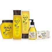 Kit Hair + Sabonetes Maracujá e Óleo de Patauá - Rotina Completa Skala Brasil
