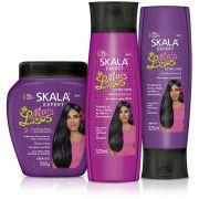 Kit #MaisLisos Condicionador + Shampoo + Creme de Tratamento
