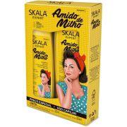 Kit Shampoo + Condicionador Amido de Milho