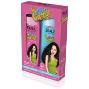 Kit shampoo e condicionador #MaisCachos