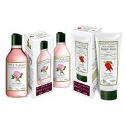 Kit Shampoo e condicionador Rose Essence + máscara Pepper Force