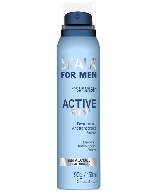 Desodorante Aerosol  For Men Active Fresh