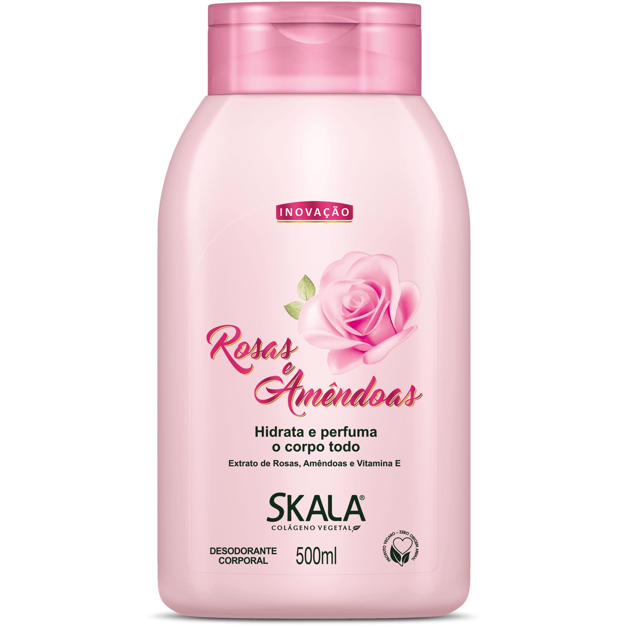 Hidratante  Rosas e Amêndoas