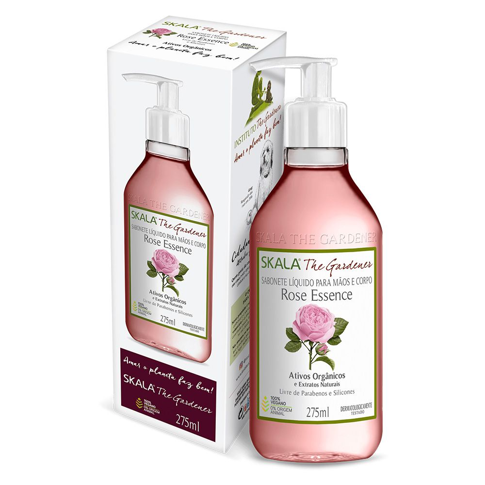 Sabonete líquido Rose Essence